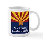 I am here legally! Mug