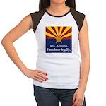 I am here legally! Women's Cap Sleeve T-Shirt