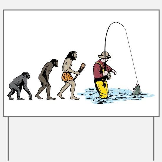 Fishing Yard Sign