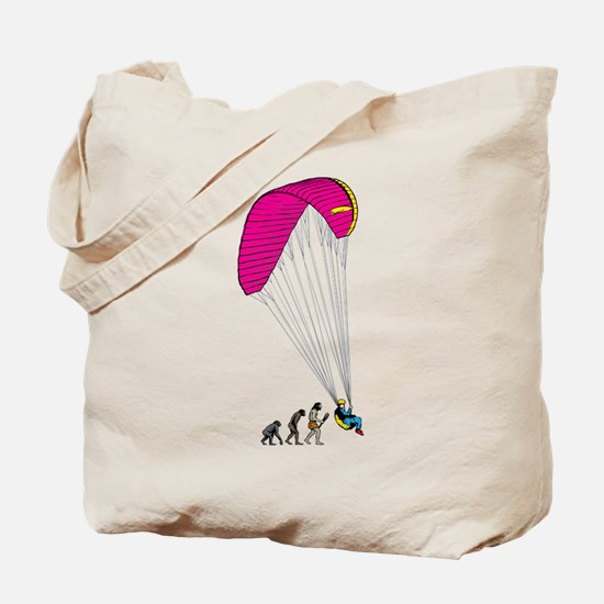 Paragliding Tote Bag