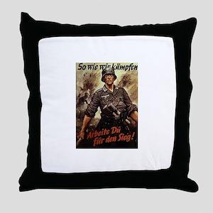 Sieg Throw Pillow