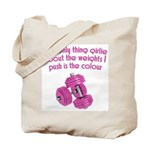 The only thing Girly Tote Bag