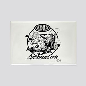 Official Amish Drag Racing Assoc. Rectangle Magnet