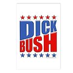 Dick Bush Postcards (Package of 8)