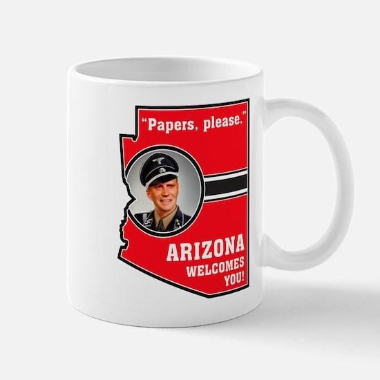 Cute Boycott arizona Mug