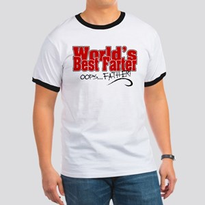 World's Best Farter (oops.. FATHER!) Ringer T
