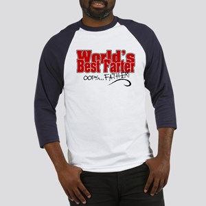 World's Best Farter (oops.. FATHER Baseball Jersey
