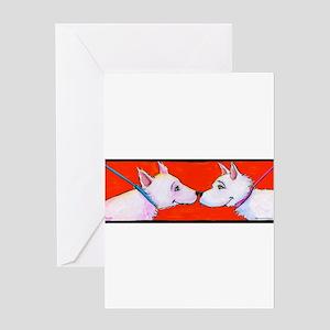 Westie Love Greeting Card