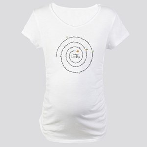 New SectionThoughts to live b Maternity T-Shirt