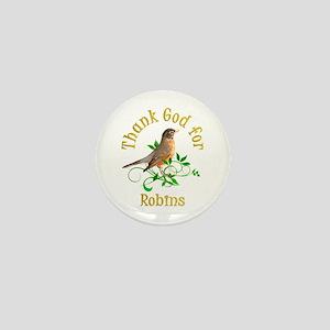 Robin Mini Button