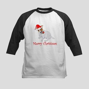Festive JRT Christmas Kids Baseball Jersey