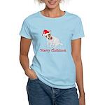 Festive JRT Christmas Women's Light T-Shirt
