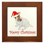 Festive JRT Christmas Framed Tile