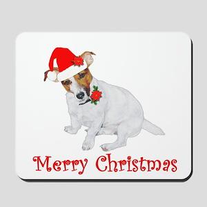 Festive JRT Christmas Mousepad