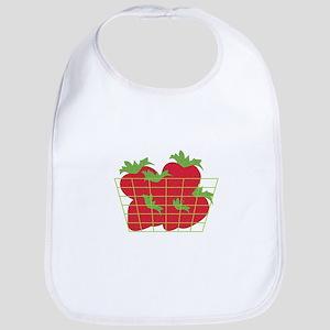 Strawberry Basket Bib