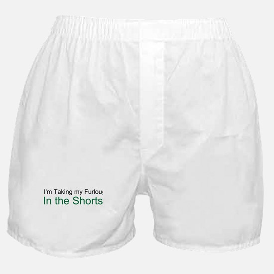 Taking It in the Shorts! Boxer Shorts