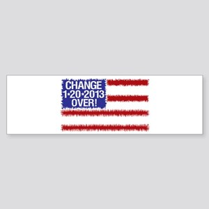 2012 Elections Change Over Sticker (Bumper)