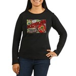 Mapples Women's Long Sleeve Dark T-Shirt