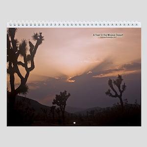 Mojave Calendar Wall Calendar