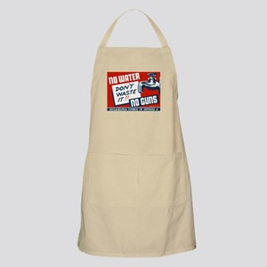 No Water No Guns BBQ Apron