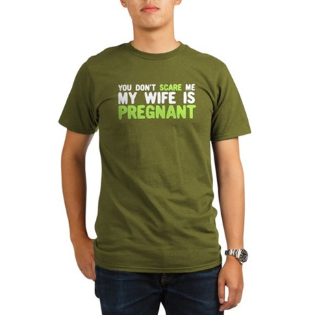 You Don't Scare Me Organic Men's T-Shirt (dark)