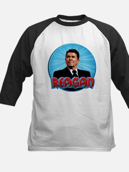 Ronald Reagan Super Hero Kids Baseball Jersey