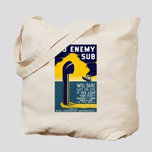 No Enemy Gun Tote Bag