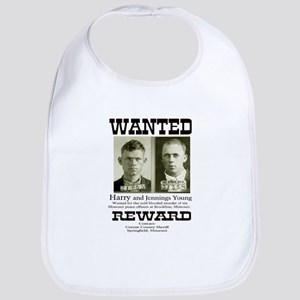 Young Brothers Wanted Bib
