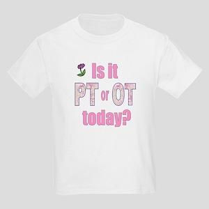 PT or OT Kids Light T-Shirt
