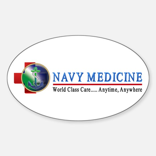 Navy Medicine Oval Decal