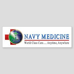 Navy Medicine Bumper Sticker