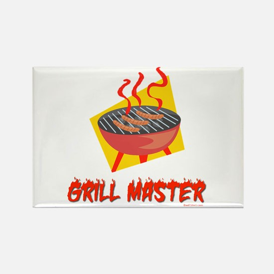 Grill Master Dad Rectangle Magnet
