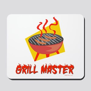 Grill Master Dad Mousepad