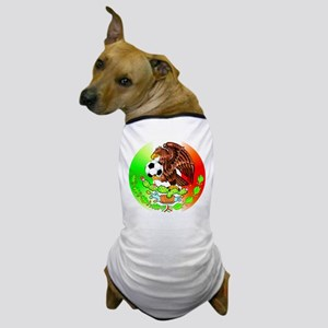 MEXICO SOCCER EAGLE Dog T-Shirt