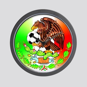 MEXICO SOCCER EAGLE FUTBOL Wall Clock