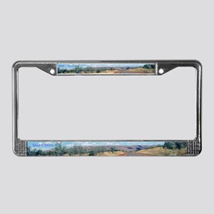 Open Road License Plate Frame
