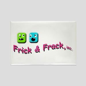 Frick n Frack Rectangle Magnet
