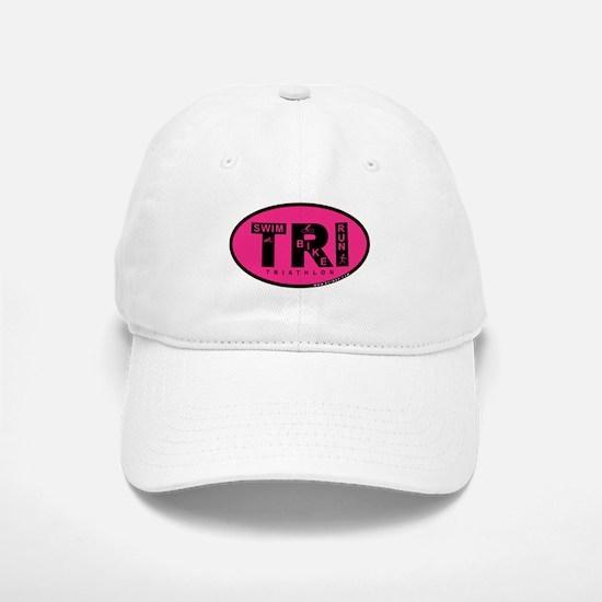 Thiathlon Swim Bike Run Baseball Baseball Cap