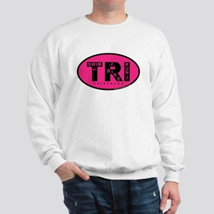 Thiathlon Swim Bike Run Sweatshirt