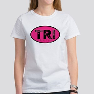 Thiathlon Swim Bike Run Women's T-Shirt