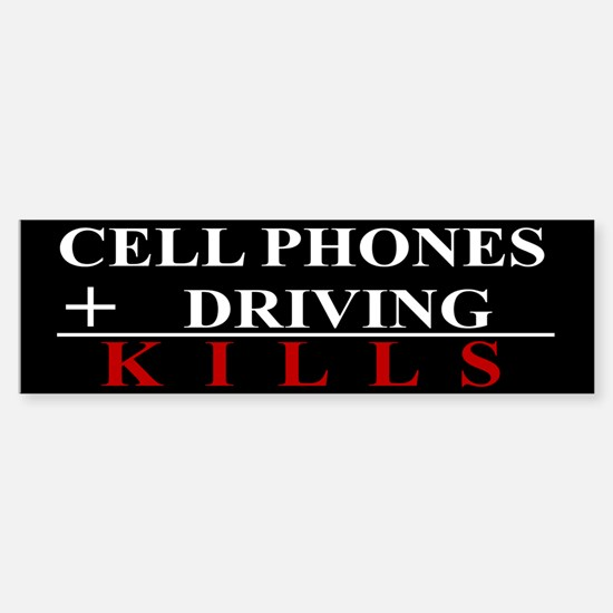 Cell Phones KillSticker (Bumper)