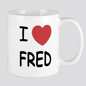 I heart Fred Mug
