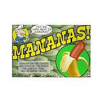 Mananas Rectangle Magnet (10 pack)