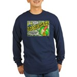Mananas Long Sleeve Dark T-Shirt