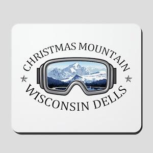 Christmas Mountain Village - Wisconsin Mousepad