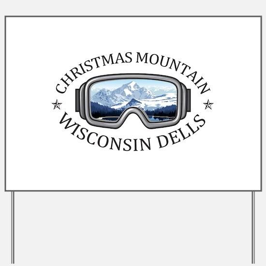 Christmas Mountain Village - Wisconsin Yard Sign