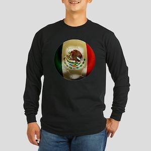 Mexico World Cup Long Sleeve Dark T-Shirt
