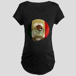 Mexico World Cup Maternity Dark T-Shirt