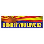 Honk for Arizona Sticker (Bumper 10 pk)