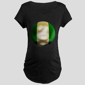 Nigeria World Cup Maternity Dark T-Shirt